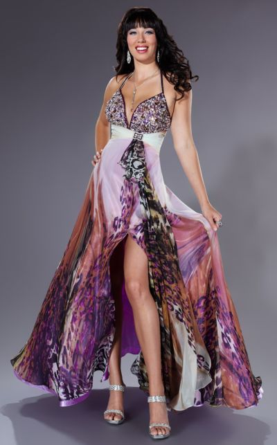 Leopard Print Prom Dresses 2011 Tiffany Designs Prom Dress 16617 ...