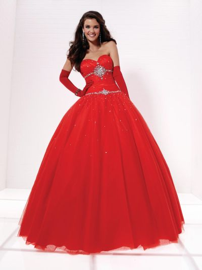 1065a09b915 Tiffany Designs Presentation 16876 Tulle Ball Gown  French Novelty