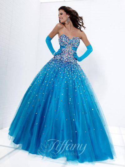 Tiffany Designs 16882 Presentation Ball Gown: French Novelty