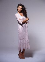 Damianou 1692 Mother of the Bride Lace Dress with Fringe image