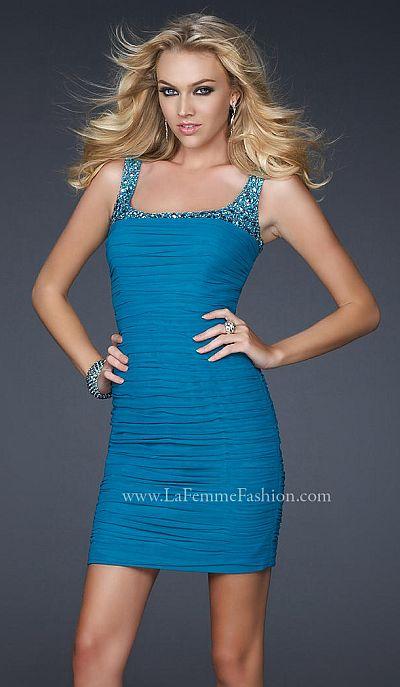 Short Prom Dresses 2012 La Femme 17076  French Novelty 9b6a9f9ef