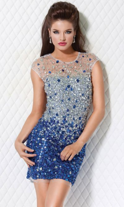 Fitted Cocktail Dresses - Formal Dresses