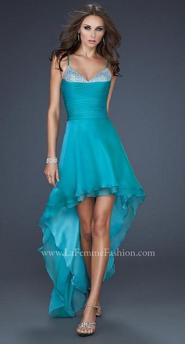 La Femme High Low Bridesmaid Dresses