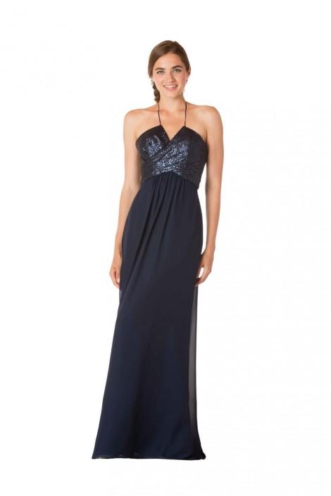 e8ce3d64cdb43 Bari Jay 1734-M Maternity Bridesmaid Dress with Sequin Bodice: French  Novelty