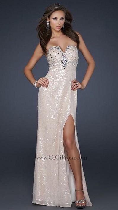 Prom Dresses 2012 GiGi Sexy Sequin Dress 17466 by La Femme  French Novelty 0773bf27f