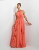 Alexia Designs 176L Long Chiffon Bridesmaid Dress image