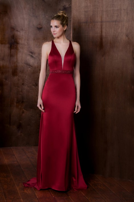 Colors Dress 1778 Deep V Neck Homecoming Gown: French Novelty