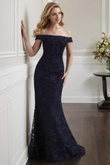 a5fe71bf24d Christina Wu Elegance 17917 Off Shoulder Lace Mother of Bride Dress