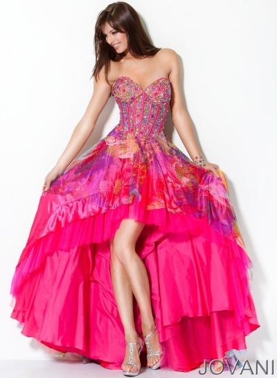 Prom dress jovani corset