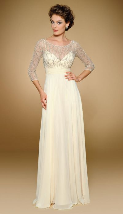 Illusion Mother of the Bride Dresses