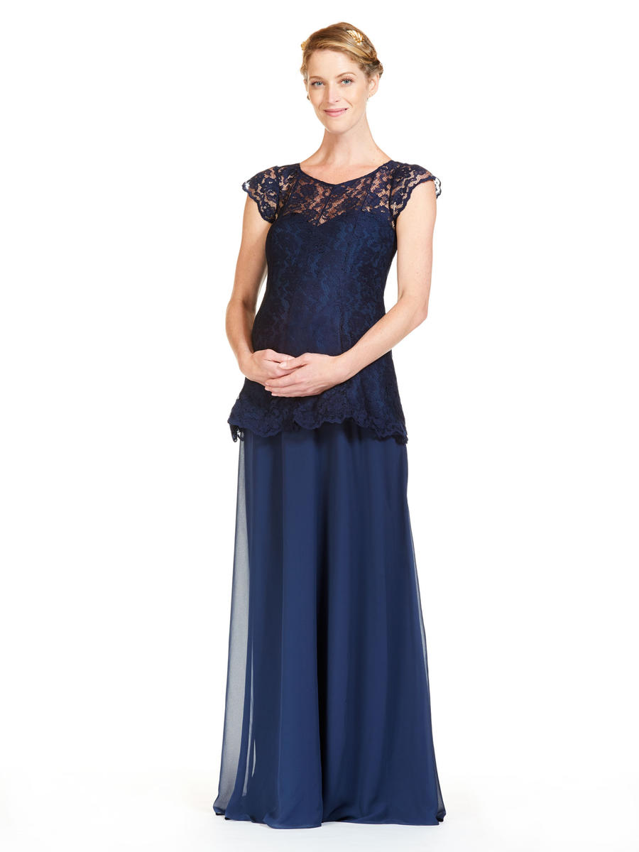 840887634cc Blue Lace Top Bridesmaid Dresses