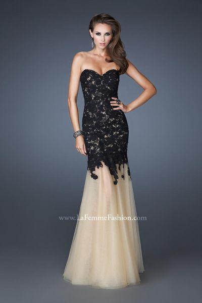 Lace Trumpet Dress