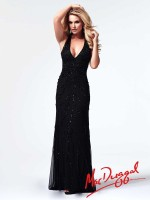 Mac Duggal 1911M Plunging V Neck Gown image