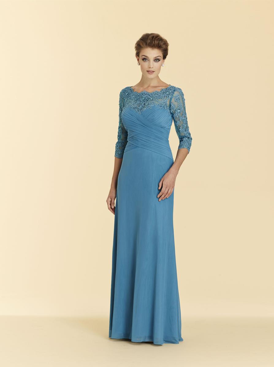 Rina Di Montella 2036 Lace Mother Of The Bride Dress