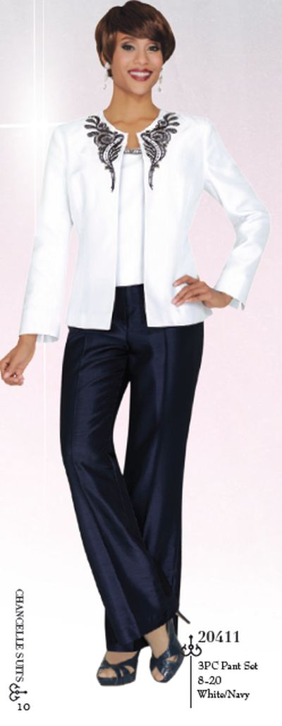 3pc Church Pant Suit