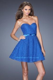 La Femme Short Cocktail Dresses: French Novelty