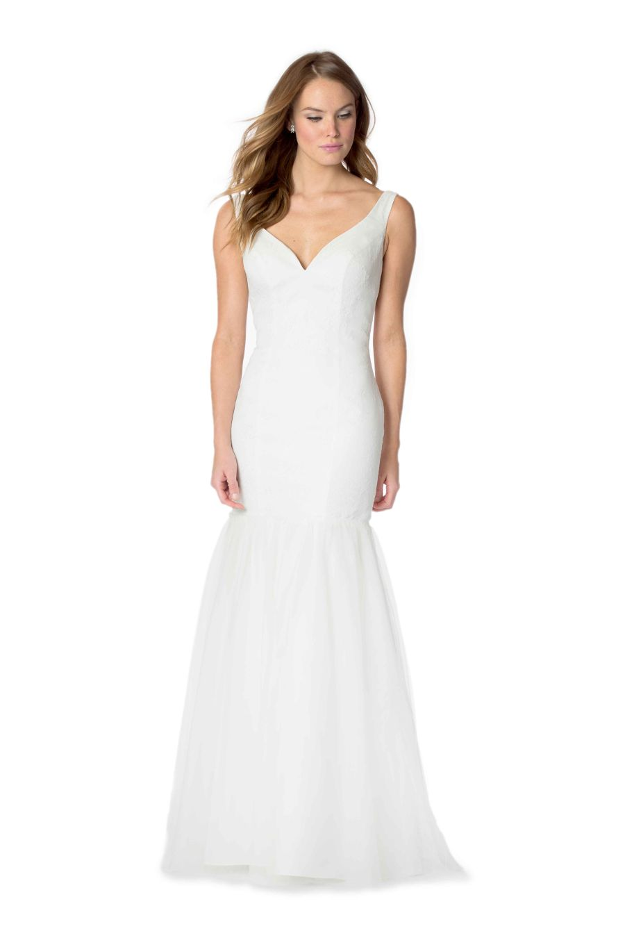 Bari jay whites 2057 fitted lace mermaid wedding dress for Immediate resource wedding dresses