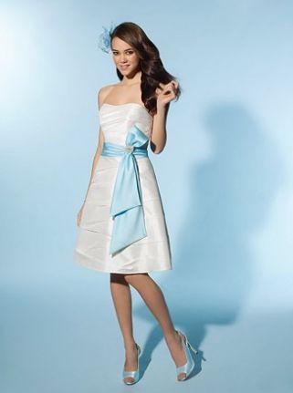 Alfred Angelo Little White Dress Short Destination Wedding Dress ...