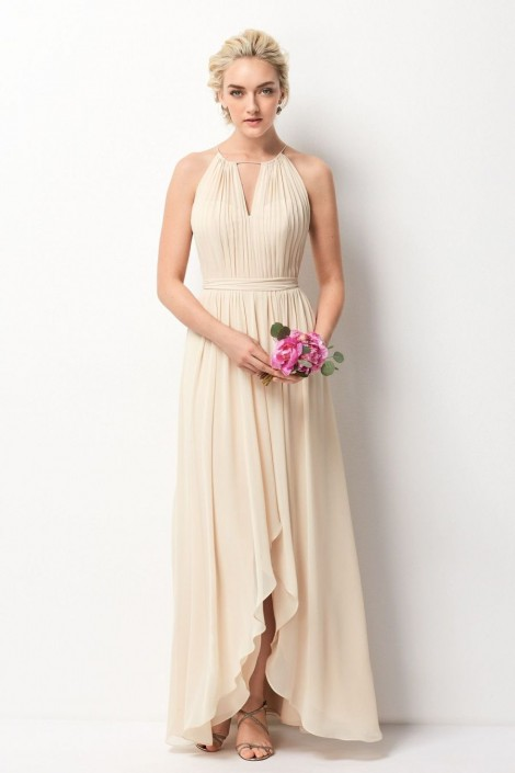 Size 14 Cashmere Wtoo 209 High Neck Bridesmaid Gown: French Novelty