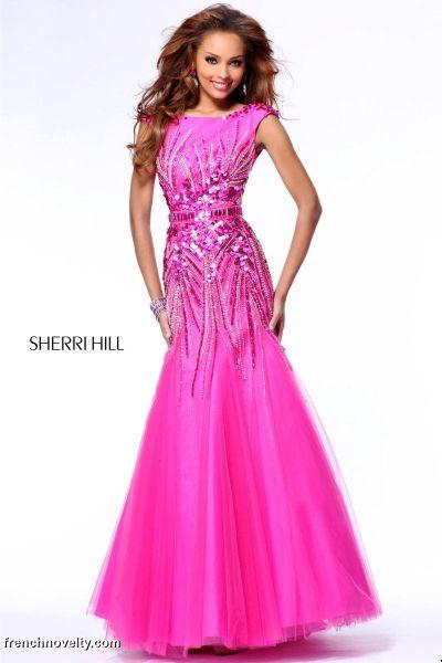 Cap Sleeve Formal Dresses