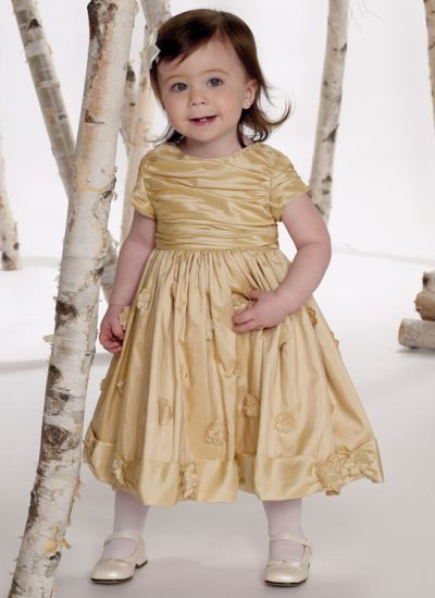 Joan Calabrese for Mon Cheri Infant and Toddler Girls Dress ...