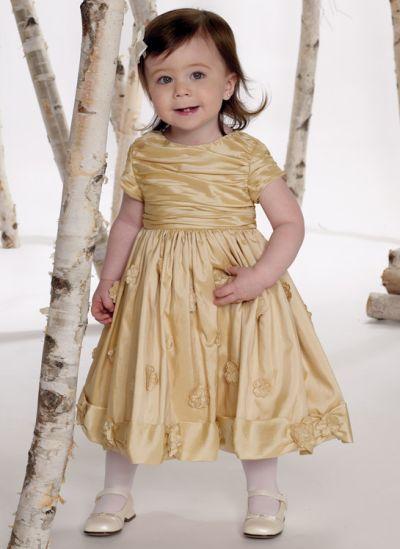 Joan Calabrese for Mon Cheri Infant and Toddler Girls Dress ...