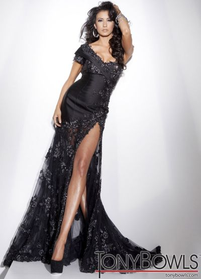 One Sleeve Pageant Dresses