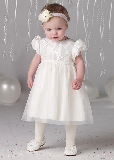 5e971f5802c0 Joan Calabrese by Mon Cheri Baby Flower Girls Dress 212386B  French ...