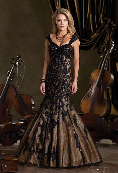 ivonne d tulle taffeta and lace mother of the bride dress
