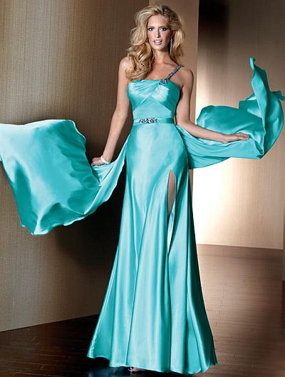 Claudine for Alyce Hollywood Style One Shoulder Prom Dress 2130 ...