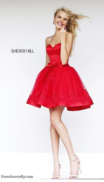 Sherri Hill 21331 Short Party Dress French Novelty