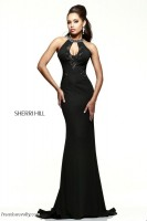 Sherri Hill 21363 Gown with Beaded Collar image