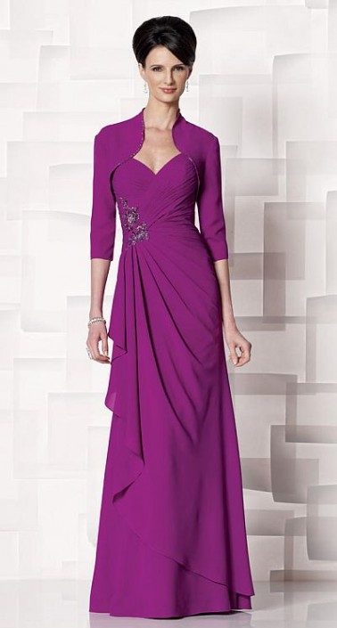 a85692b06df Cameron Blake 213640 Mother of the Bride Dress  French Novelty
