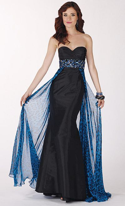 Leopard Print Mermaid Prom Dresses