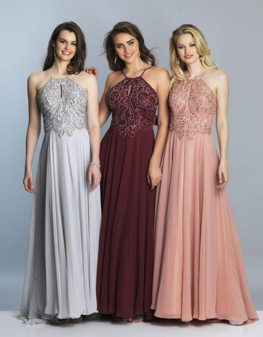 Dave and Johnny 2143W Beautiful Plus Size Prom Gown: French Novelty