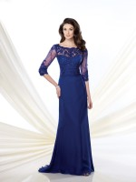 Montage by Mon Cheri 214941 Elbow Sleeves Formal Dress image