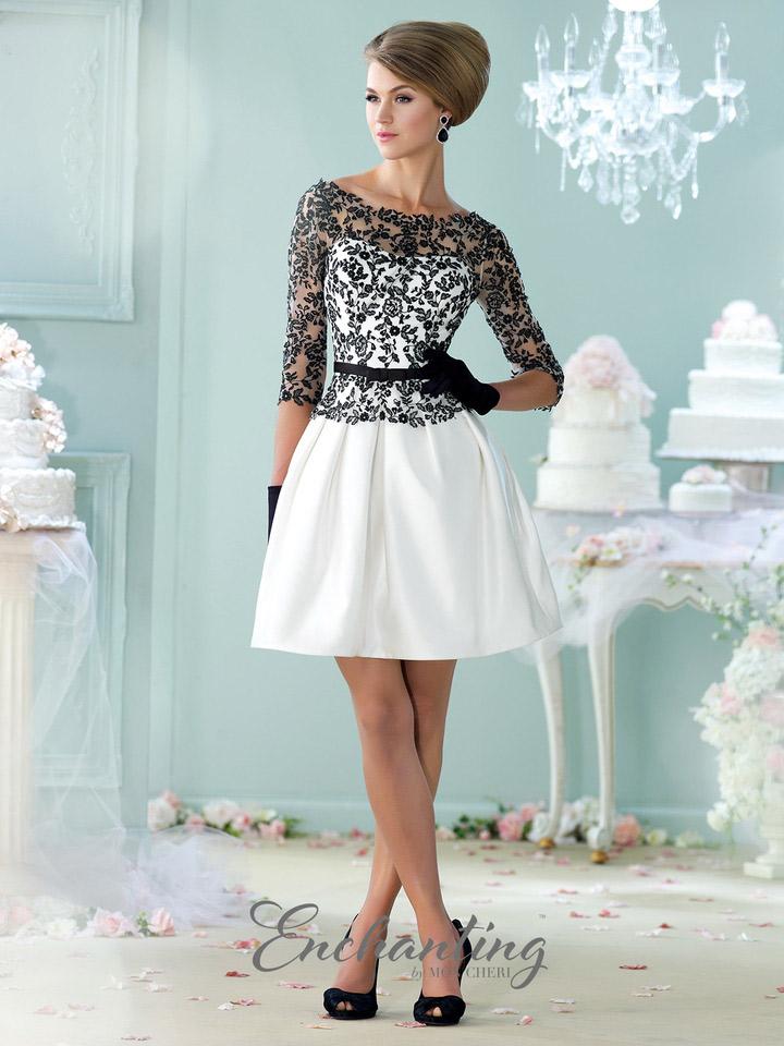 Enchanting by Mon Cheri 215102 Short Casual Wedding Dress: French ...