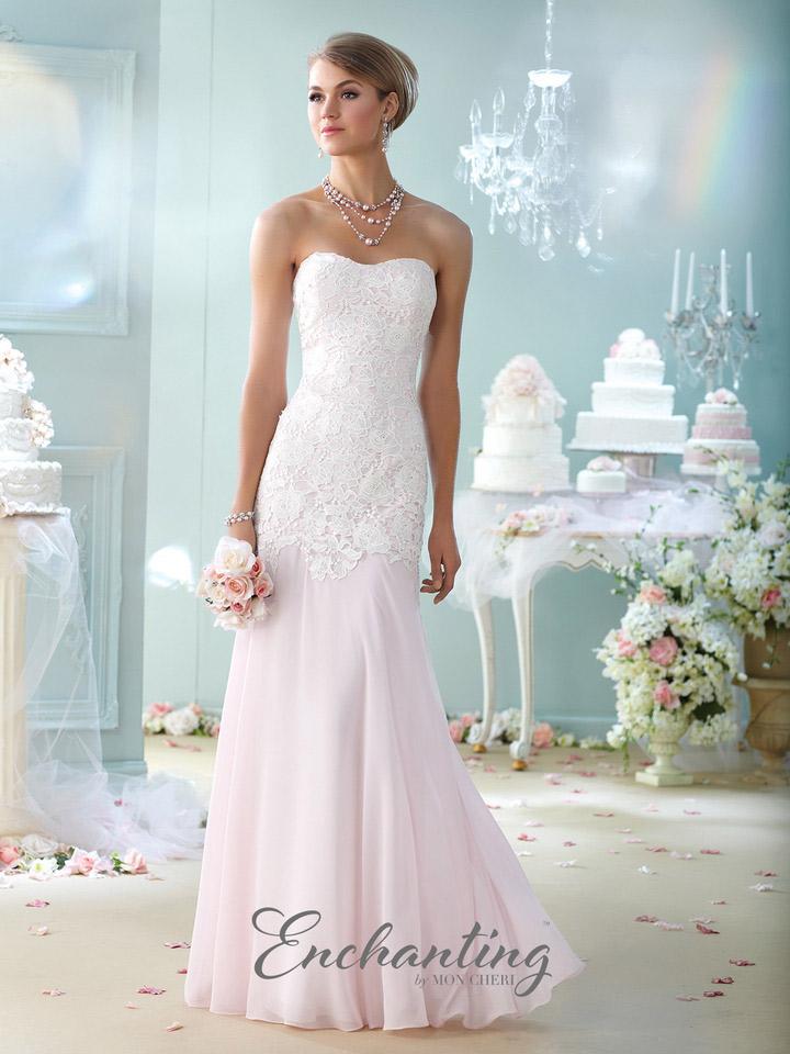 526b61e974 Enchanting by Mon Cheri 215107 Mermaid Destination Wedding Dress  French  Novelty