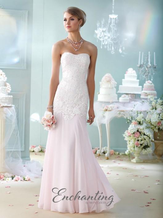 239d946a0262 Enchanting by Mon Cheri 215107 Mermaid Destination Wedding Dress: French  Novelty