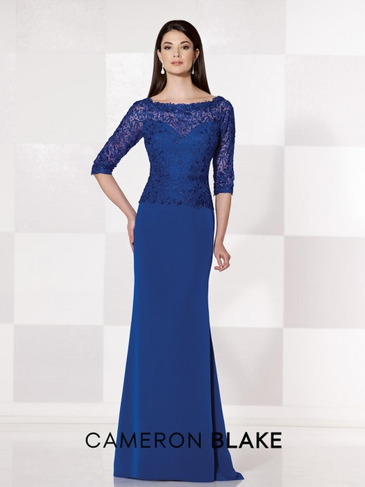 Cameron Blake 215645 Mother of the Bride Gown: French Novelty