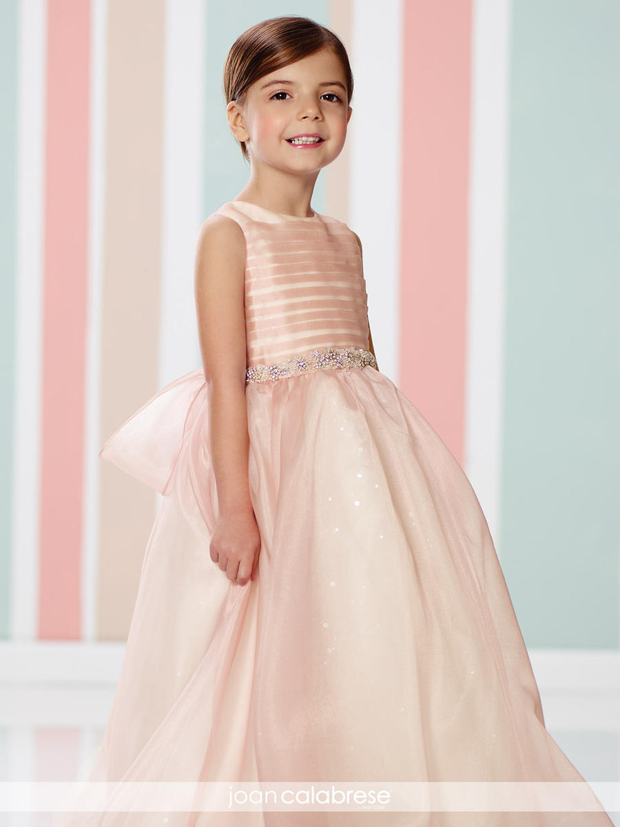 079467d2409 Joan Calabrese for Mon Cheri 216328 Flower Girls Sequin Lace Dress  French  Novelty