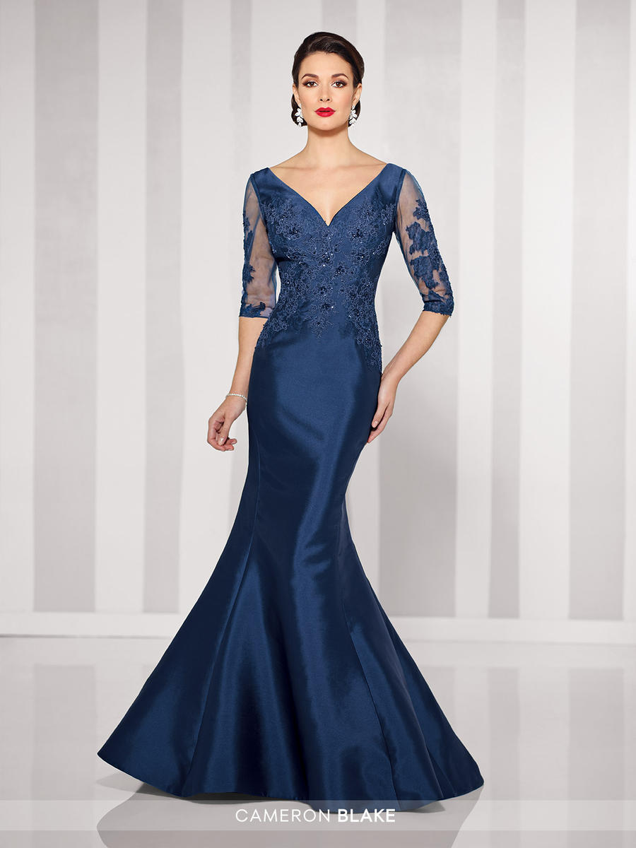 cameron blake 216678 mother of the bride illusion gown