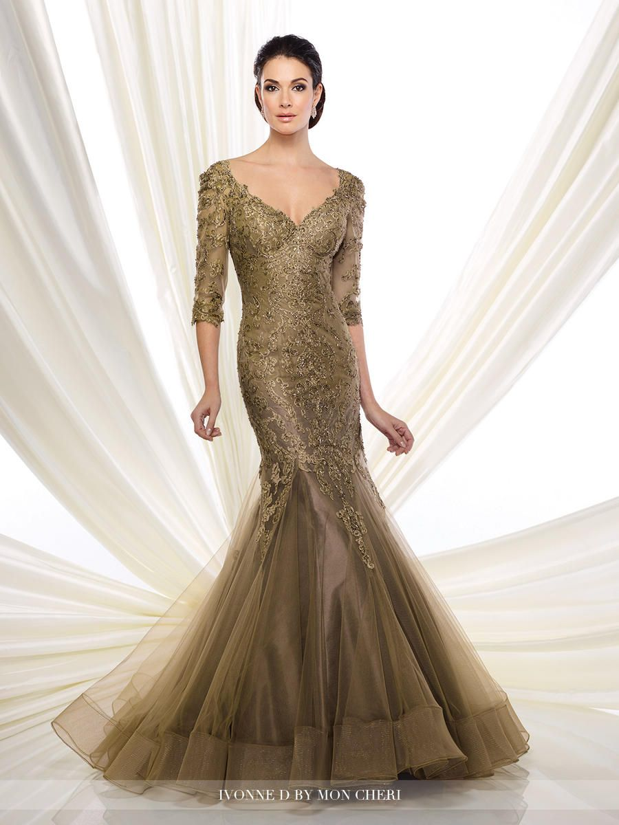 Ivonne D For Mon Cheri 216d50 Mother Of The Bride Gown