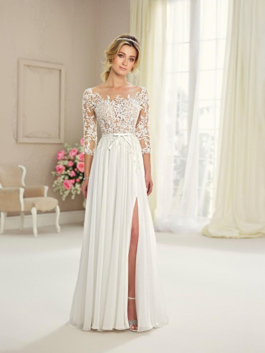 high fashion fast delivery buying now Enchanting by Mon Cheri 217108 Informal Lace Wedding Dress