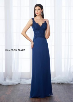 c48f34024ea1 Cameron Blake 217645 Sequin Tulle Mothers Wedding Dress. $498.00. Cameron  Blake 217650 MOB Dress with Removable Lace Sleeves