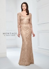 93483e320e8 Size 18W Gold Montage 218910 Metallic Lace Mothers Dress