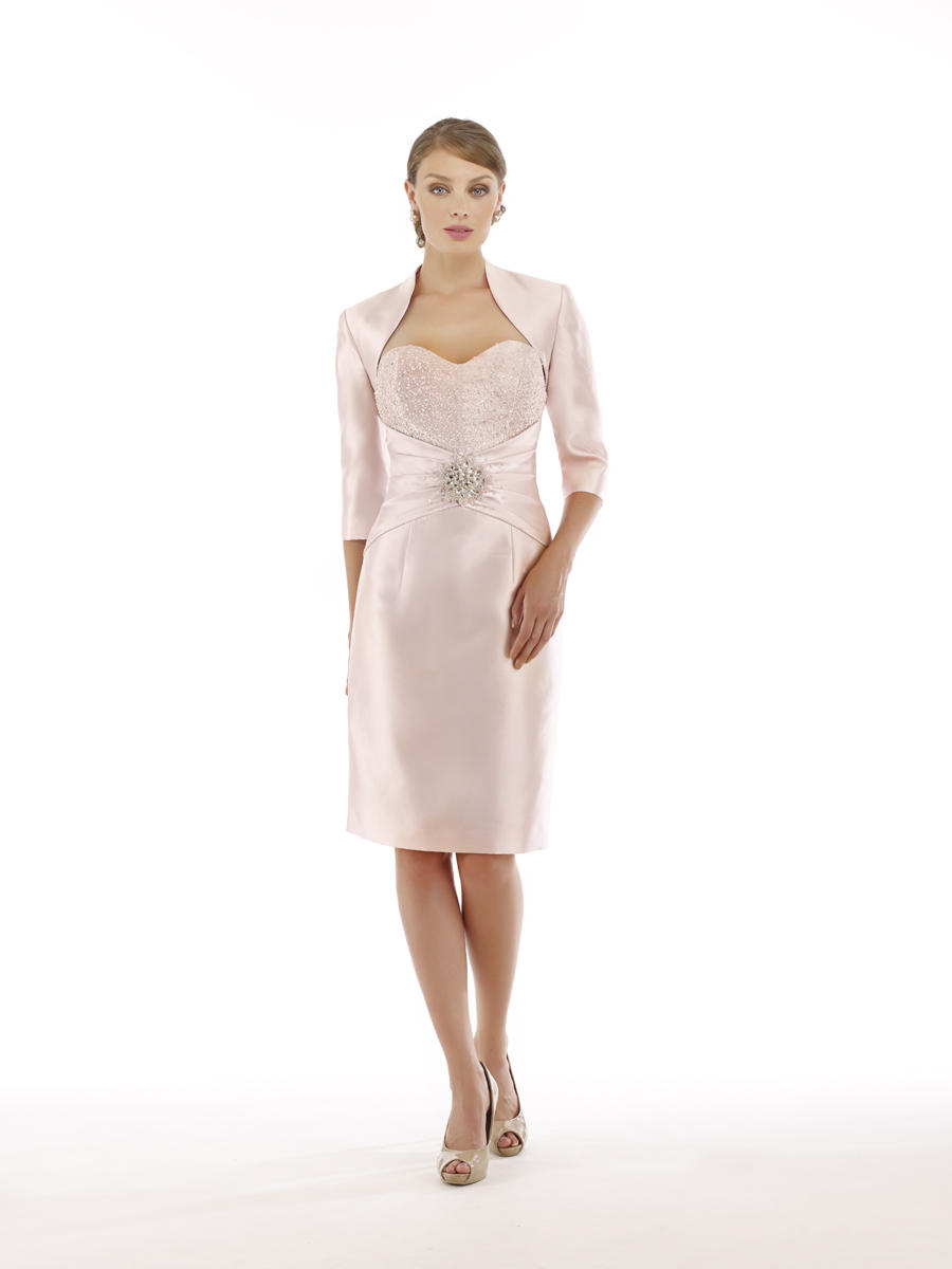 Rina Di Montella 2215 S Mother Of The Bride Short Jacket Dress