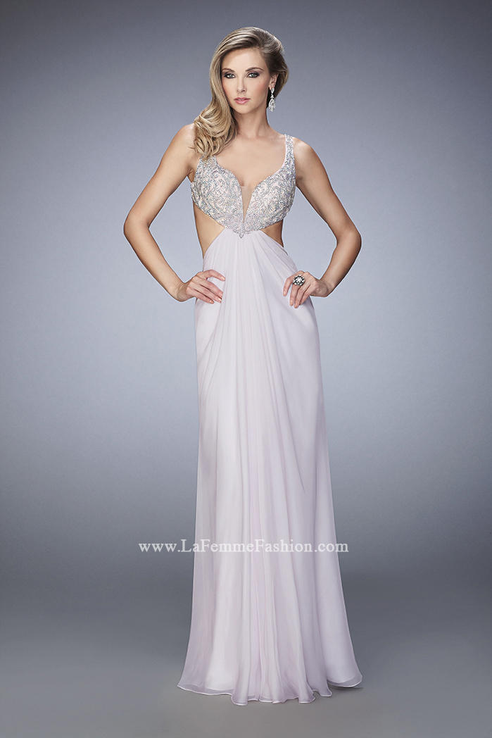 La femme 22340 beautiful chiffon gown french novelty for Wedding dresses montgomery al