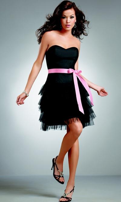Jordan Short Flirty Swiss Tulle Ruffle Bridesmaid Dress 224