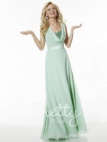 Size 4 Suzi Mint Pretty Maids 22617 Bridesmaid Gown image